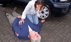 Wat doen bij een ongeval met gewonden?