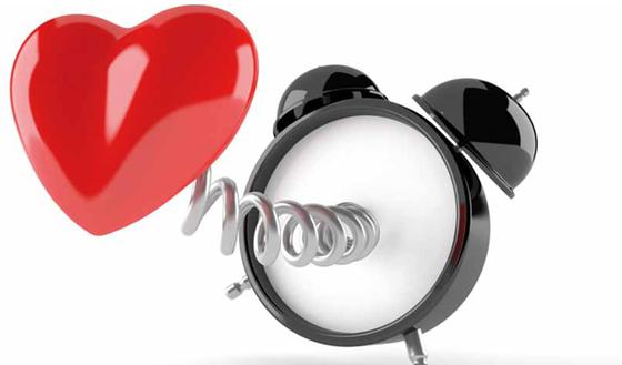 Week van het hartritme moet u uw hartritme laten testen als u gezond bent - Huisarts klok ...